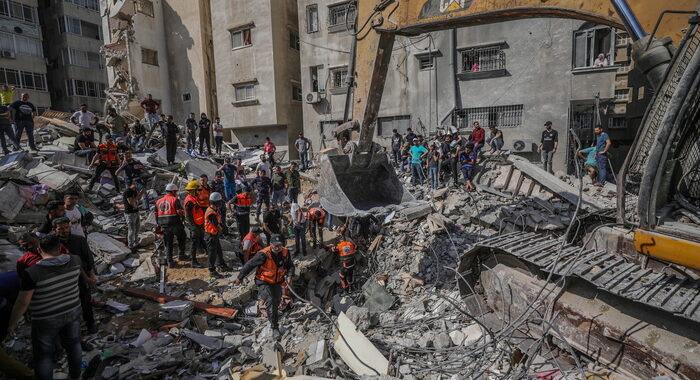 Gaza: nuovo bilancio, 192 morti di cui 58 bambini