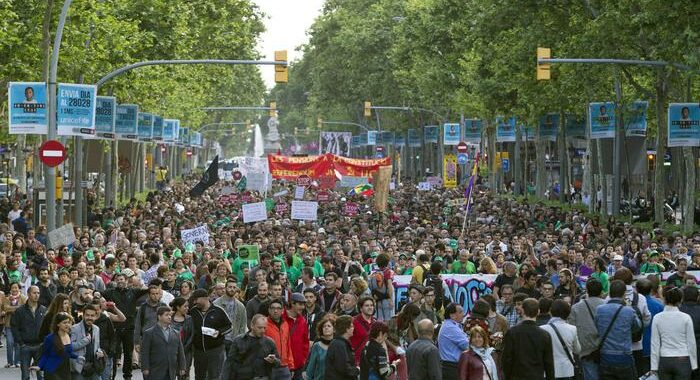 La Spagna ricorda le proteste degli indignados 10 anni dopo