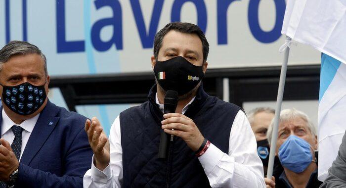 Lega: videoconferenza Salvini con ministri e capigruppo
