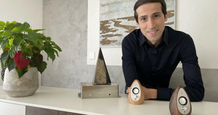 L'inventore italiano che comunica con la luce