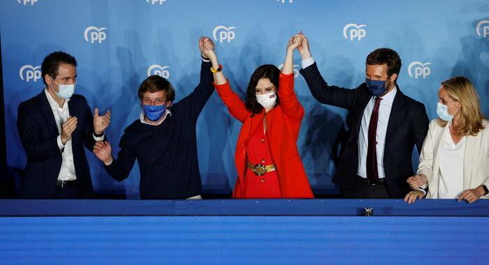Madrid, la Ayuso trionfa ma avrà bisogno di Vox