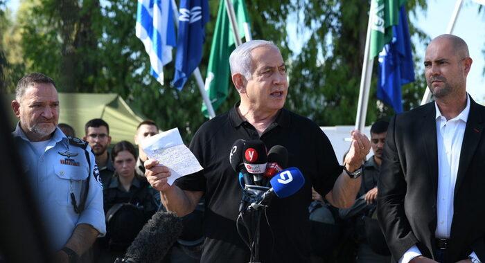 Netanyahu, l'operazione a Gaza richiederà ancora tempo