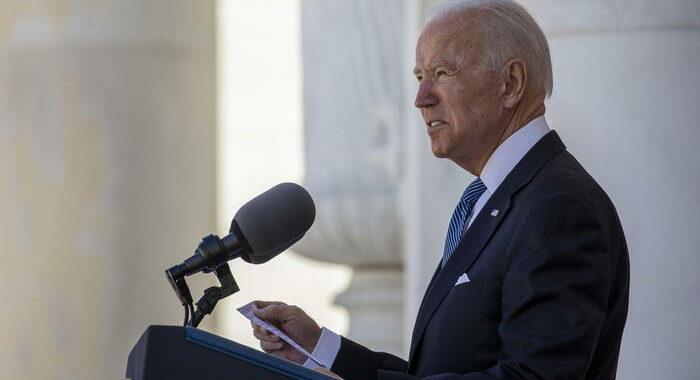 Biden, suprematismo bianco è minaccia più letale per Paese