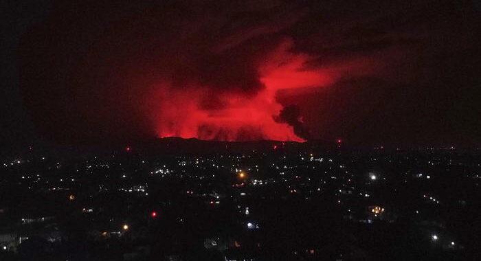 Congo: vulcano Nyiaragongo, riapre l'aeroporto di Goma