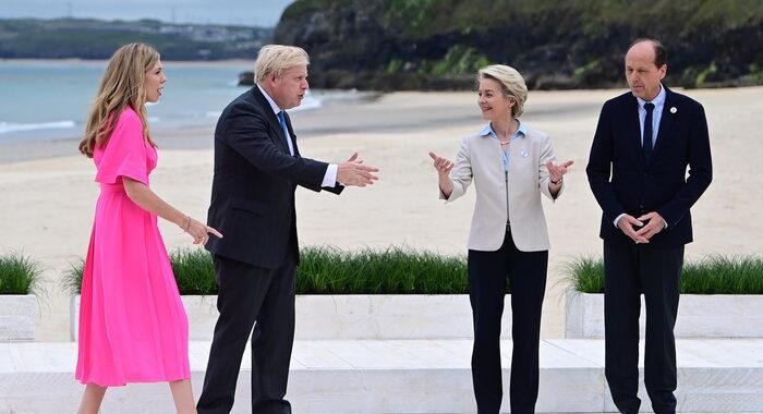 G7: Johnson replica all'Ue, su Brexit serve compromesso