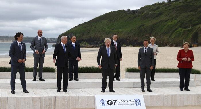 G7:Ue,accordo Venerdì santo priorità,attuare intesa Brexit