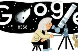 Google, un doodle 3D per i 99 anni di Margherita Hack