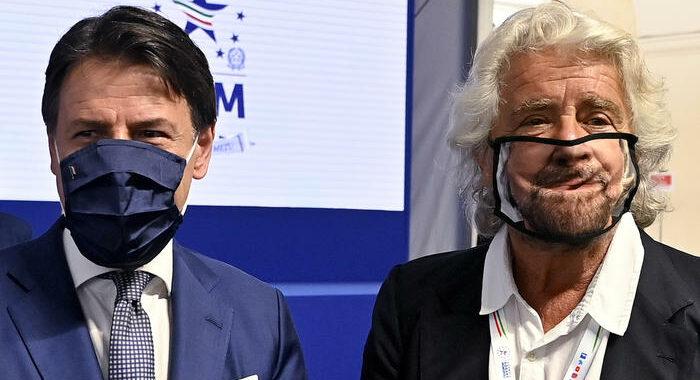 M5s: ieri incontro Grillo-Conte su nuovo Statuto