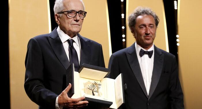 Cannes: Bellocchio, tutti in piedi e lui quasi piange