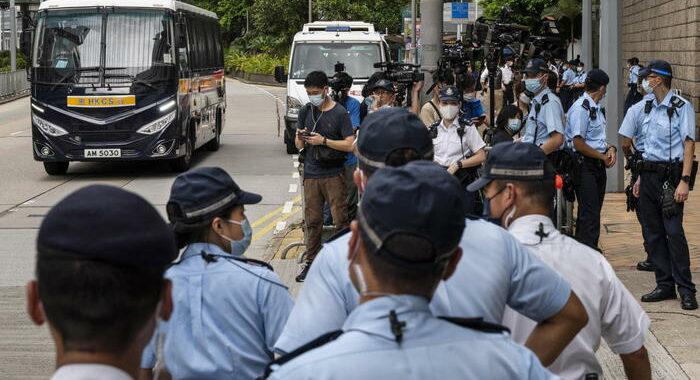 Hong Kong: un arresto per fischi all'inno nazionale cinese