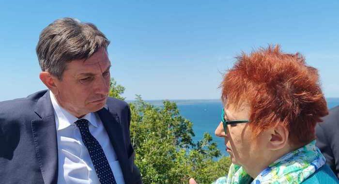 Italia-Slovenia: Rojc, con Pahor e Mattarella amicizia tra Paesi