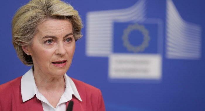 Covid: von der Leyen, 60% europei ora pienamente vaccinato