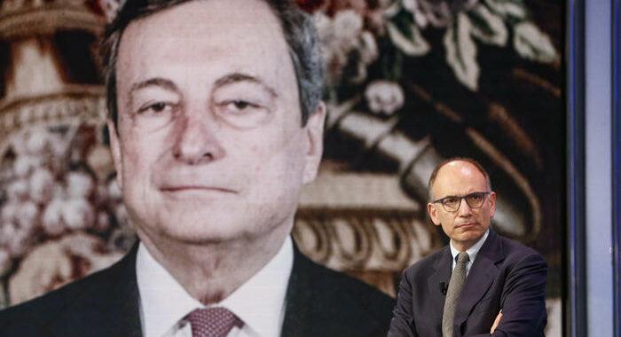 Governo: Draghi ha incontrato Letta a Palazzo Chigi