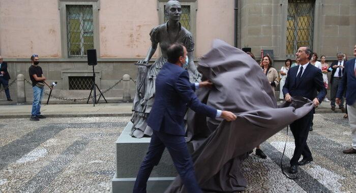 A Milano prima statua a una donna, Cristina di Belgiojoso