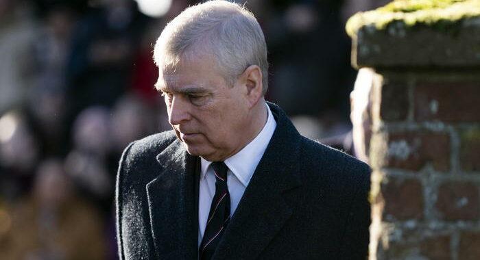 Epstein: il principe Andrea contesta notifica causa Giuffre