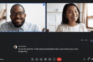 Google porta su Meet le traduzioni audio dal vivo