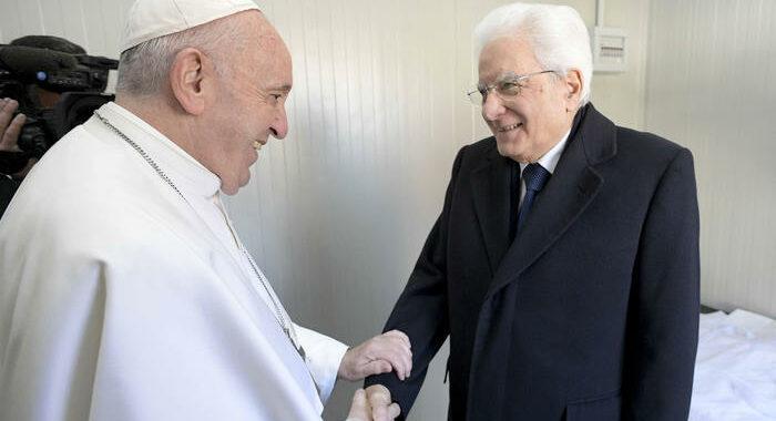 Mattarella in Vaticano il 16 dicembre da papa Francesco