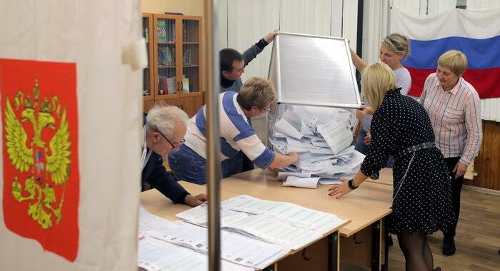 Russia Unita al 41% col 15% delle schede scrutinate