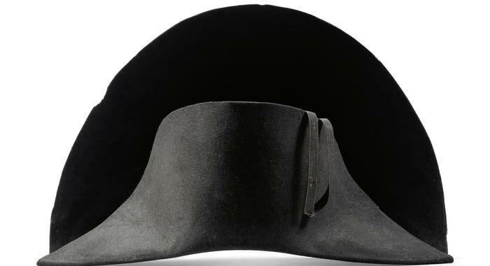 Scoperto nuovo cappello di Napoleone, in mostra a Hong Kong