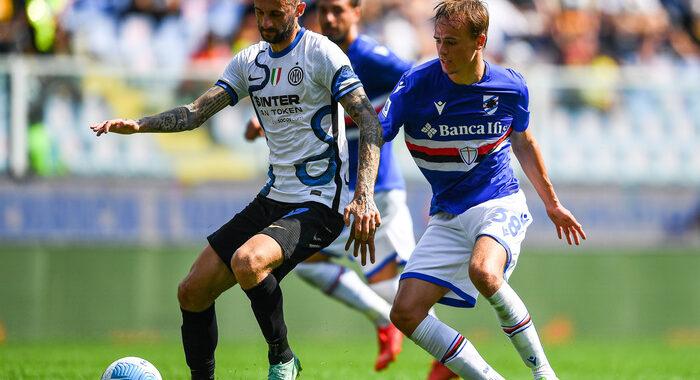 Serie A: Sampdoria-Inter 2-2